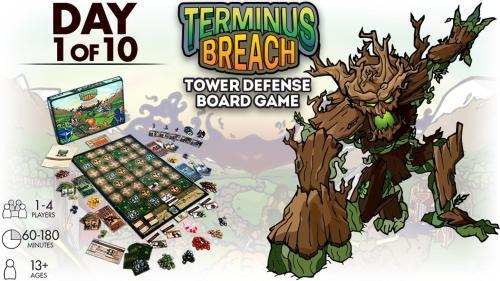 Terminus Breach: Tower Defense Board Game