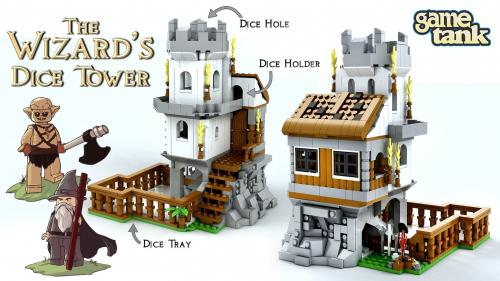 The Wizard s Dice Tower - A D&D Brick Set with a Campaign