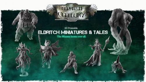 Eldritch Century - 3D Printable miniatures and tales