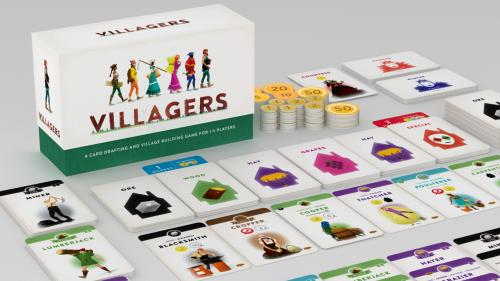 Villagers - Card drafting & village building for 1-5 players