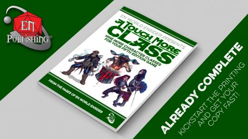 A Touch More Class: 9 New 5th Edition Classes