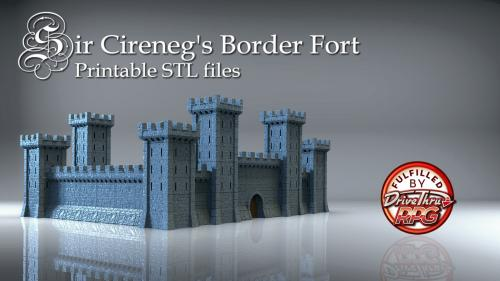 Sir Cireneg s Castle - Border Fort
