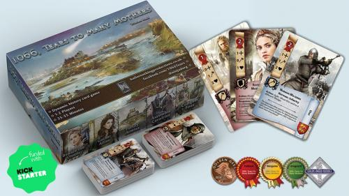 1066, Tears to Many Mothers - a card game of War & History