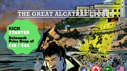 The Great Alcatraz Escape - Board Game