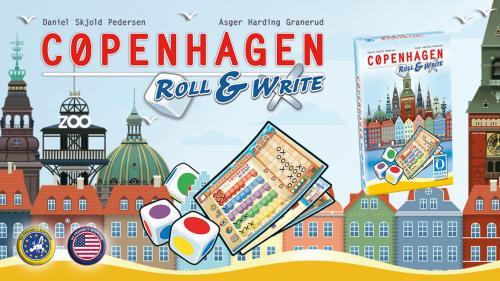 Copenhagen: Roll & Write
