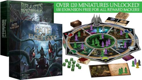 Fate of the Elder Gods - the boardgame of Lovecraftian cults