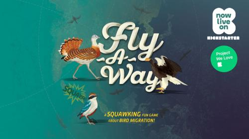 Fly-A-Way: A Squawking Fun Game about Migratory Birds