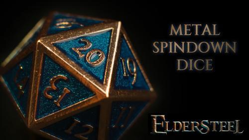 Metal Spindown Dice by Eldersteel
