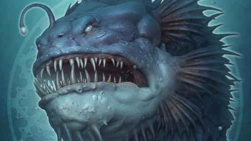 The Deep Sea, Blood & Ice Dragons by Kerem Beyit