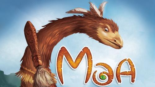 Moa, a Martin Wallace Board Game of Birds & Mammals for 3-5