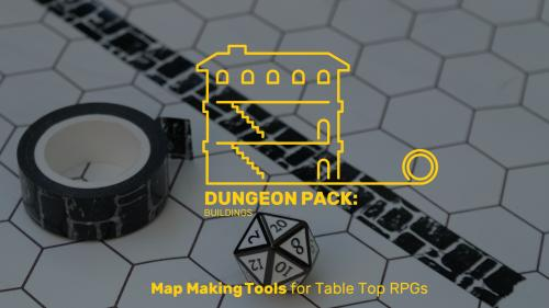 DUNGEON PACKS: Tools for creating better custom TTRPG maps.