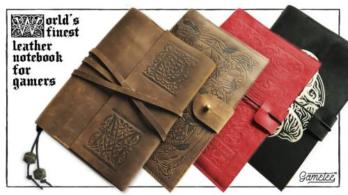 Gametee: World s Finest Leather Notebooks for Gamers