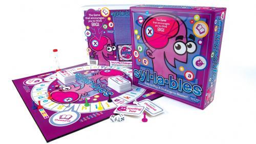 Syl-la-bles board game