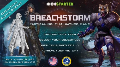 Breachstorm - Tactical Sci-fi Miniature Game