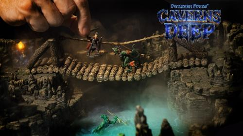 Caverns Deep! by Dwarven Forge: Handcrafted Game Terrain