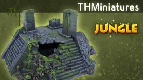 Miniature Scenery Terrain for Tabletop gaming & Wargames