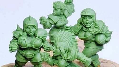 Female Fantasy Football Dwarves