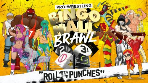 BINGO HALL BRAWL - the pro wrestling dice game (2021)