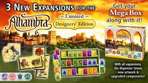 New Expansions for the Alhambra Designers  Edition