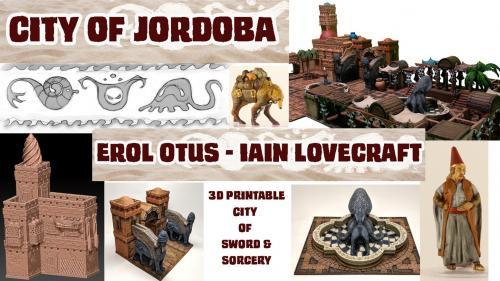 City of Jordoba: 3D Printable Terrain by Otus and Lovecraft