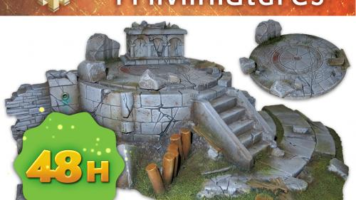 Miniature Scenery Terrain for Tabletop gaming and Wargames