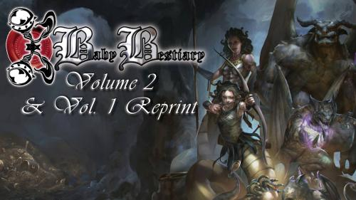 Baby Bestiary Volume 2 & Vol. 1 Reprint