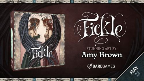 Fickle- A fairy board game featuring the art of Amy Brown