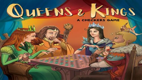 Queen & Kings: A Checkers Game