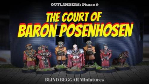 The Court of Baron Posenhosen and The Robot Legions.
