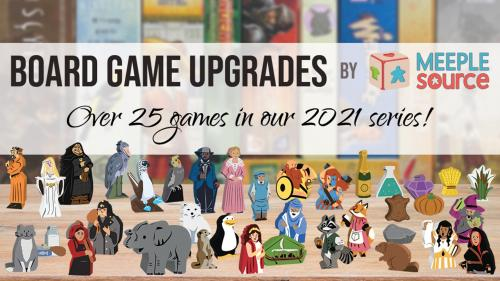 Board Game Upgrade Kits by Meeple Source - 2021 Series