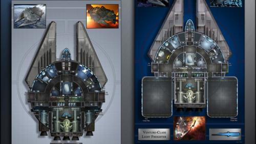 Venture: Starship Deckplans