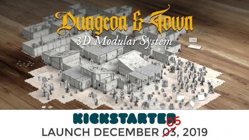 Fantasy World Creator: Dungeon & Town - 3D modular system
