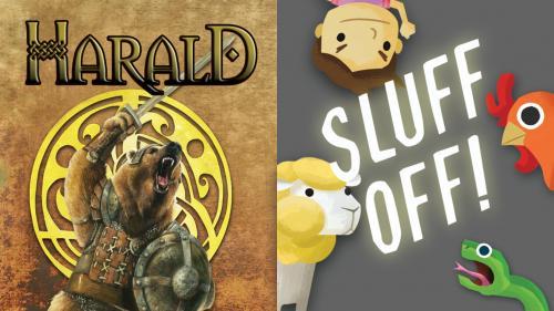 "Sluff Off & Harald: Two latest EGGs are Classics ""old & new"""