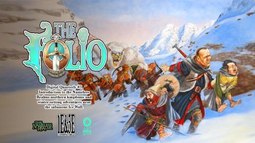 The Folio Digital Quarterly #3, 1E & 5E Adventure Module!