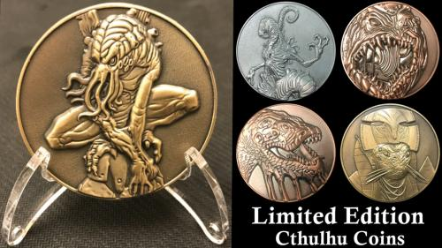 Cthulhu Mythos Coins: Limited Edition Final Minting