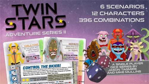 Twin Stars: Adventure Series II - A solo game system