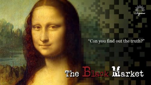 The black market: Learning art history at black auction.