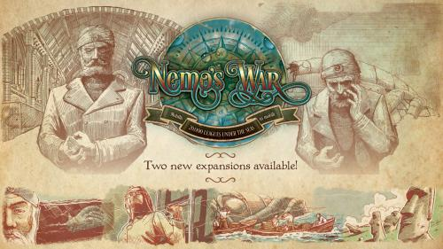Nemo s War: Bold and Caring & Dramatis Personae Expansions