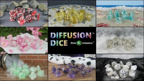 Diffusion™ Dice from Role 4 Initiative™