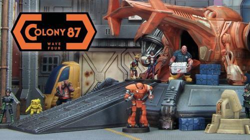 Colony 87 Wave Four: 28mm Sci-Fi Civilians