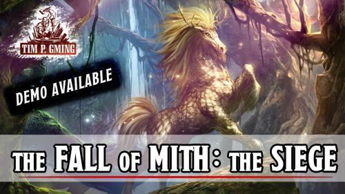 Break Kickstarter: The Fall of Mith: the Siege, 5E