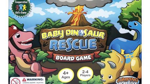 Baby Dinosaur Rescue Board Game
