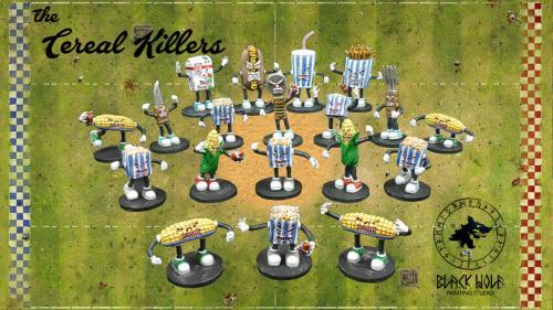 The Cereal Killers Fantasy Football Teams
