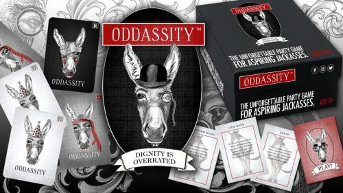 Oddassity Social Party Card Game