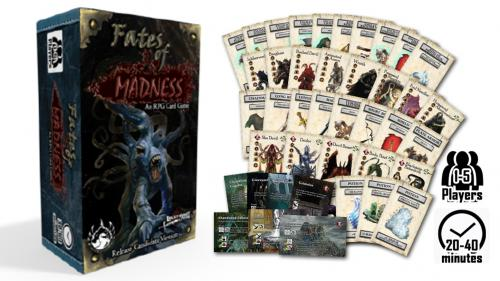 Fates of Madness, an RPG Card Game