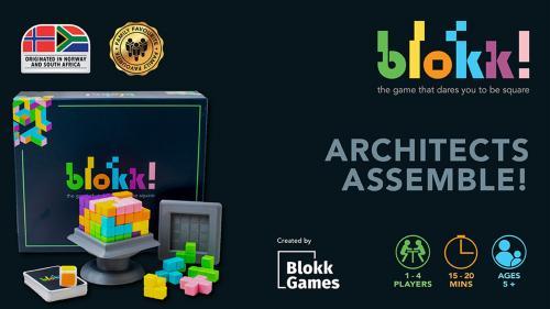 Blokk! The 3D board game