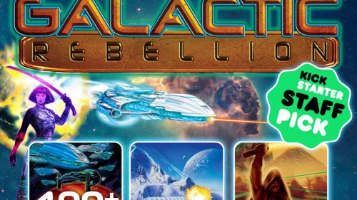 EMPIRES GALACTIC REBELLION! A board game homage to Star Wars