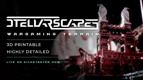 Stellarscapes - 3D Printable Sci-Fi Terrain