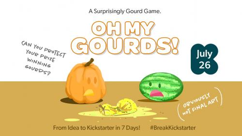 OH MY GOURDS! A Fun, Fast 2 - 4 player card counting game