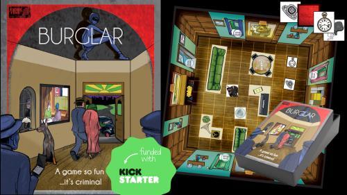 Burglar - a game so fun it s criminal